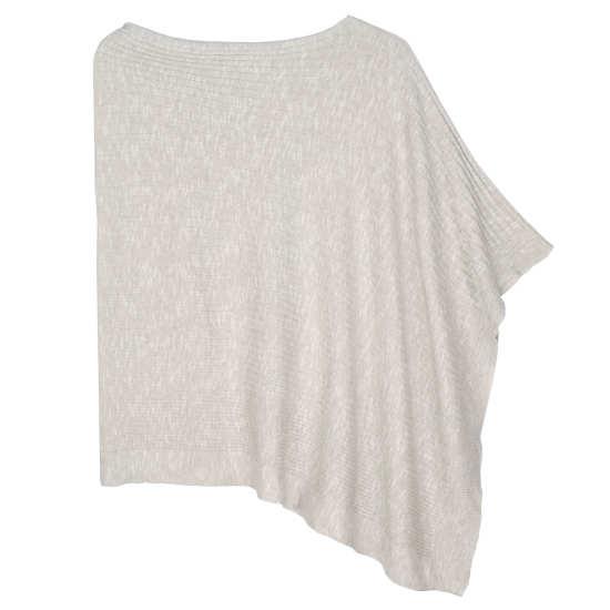 Organic Linen Cotton Slub Serape
