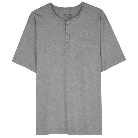 M's Squeaky Clean Henley Tee