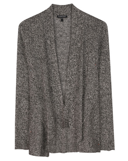 Washable Wool and Linen Twist Cardigan