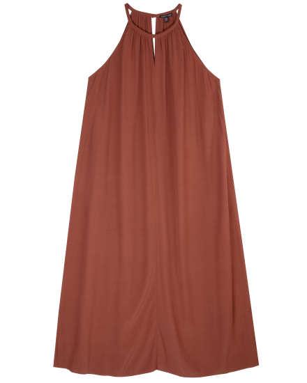Tencel Viscose Crepe Dress