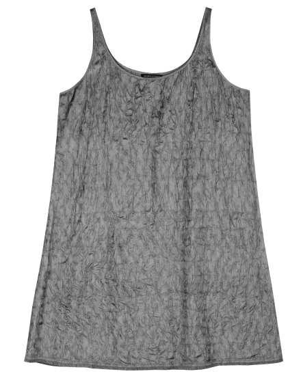Scrumple Silk Tussah Dress