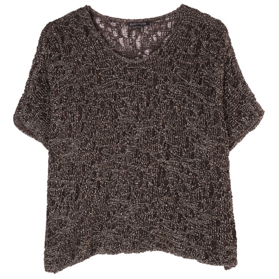 Wrapped Sparkle Jacquard Pullover