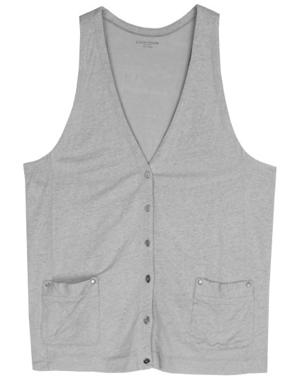 Linen Jersey Vest