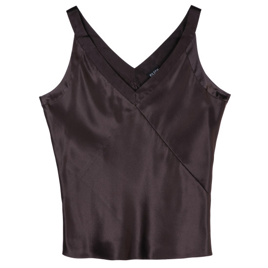 Satin Silk Charmeuse Tank
