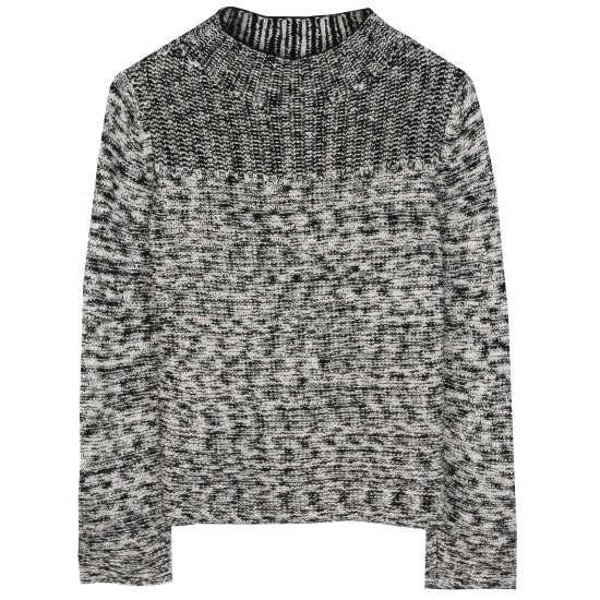 Peruvian Organic Cotton Twist Pullover