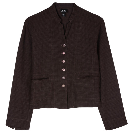 Basket Crepe Jacket