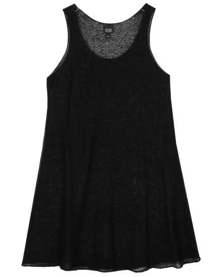 Rayon Linen Knit Dress