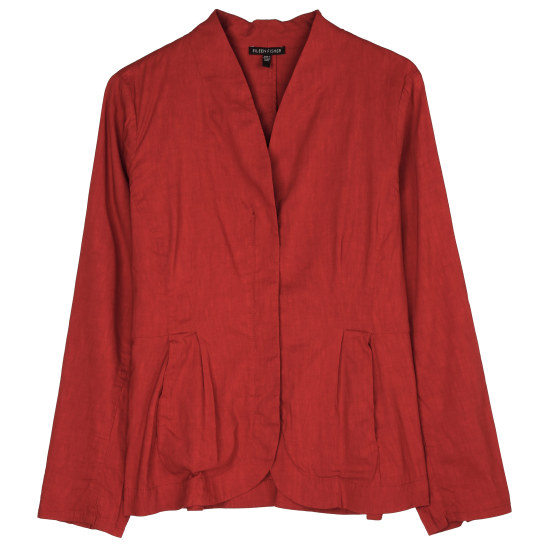 Linen Viscose Stretch Jacket