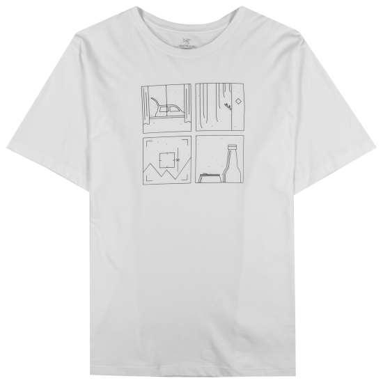Quadrants T-Shirt SS Men's