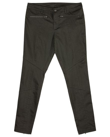 Coated Light Stretchy Denim Pant