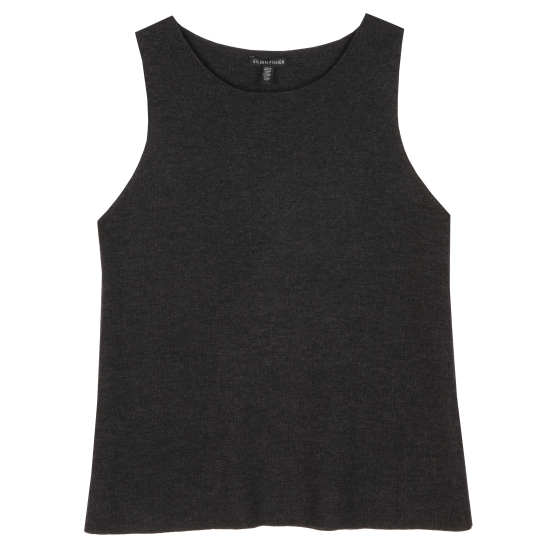 Merino Wool Rib Vest