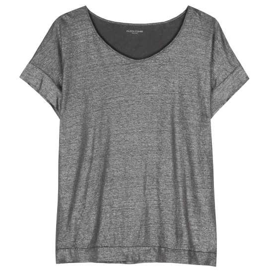Linen Jersey Shimmer Tunic