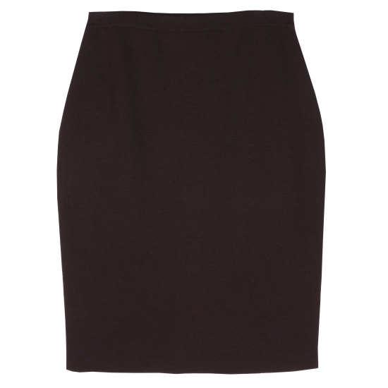 Washable Wool Crepe Skirt