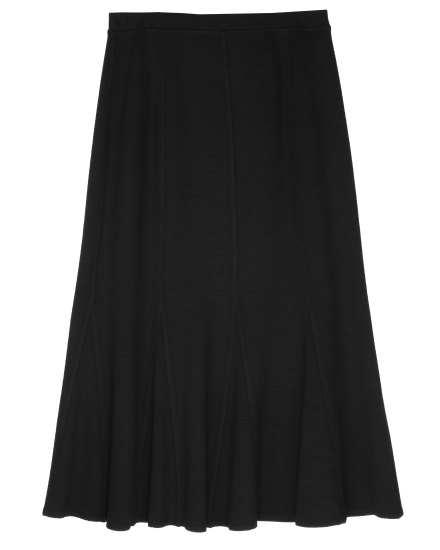 Viscose Wool Knit Skirt