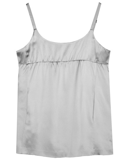 Crepe Back Satin Tank