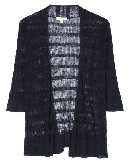 Lightweight Linen Stripe Cardigan