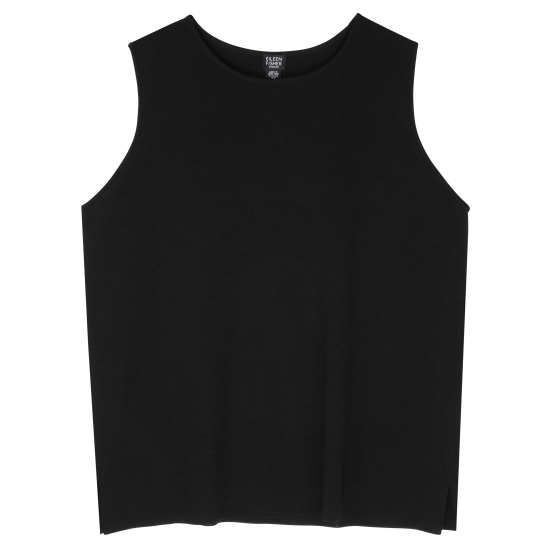 Washable Wool Crepe Vest