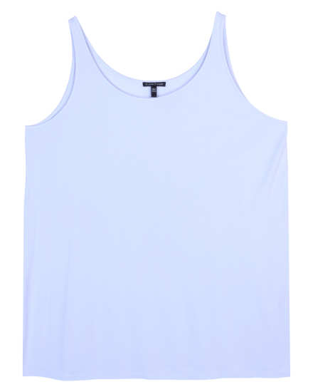 Stretch Silk Jersey Tank