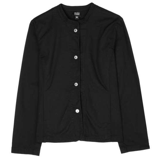 Stretch Cotton Canvas Jacket