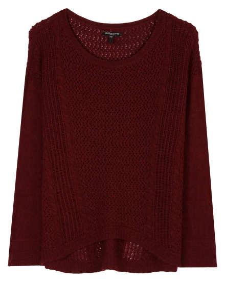 Basket Melange Pullover