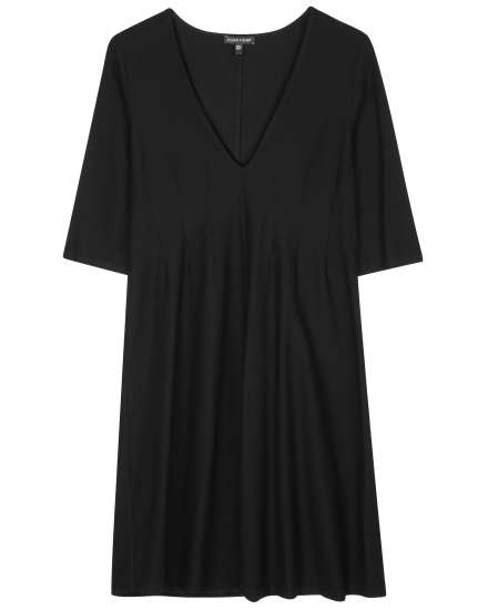 Lightweight Washable Stretch Crepe Dress