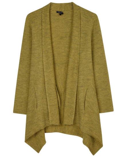 Felted Merino Knit Cardigan
