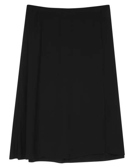 Silk Georgette Crepe Skirt