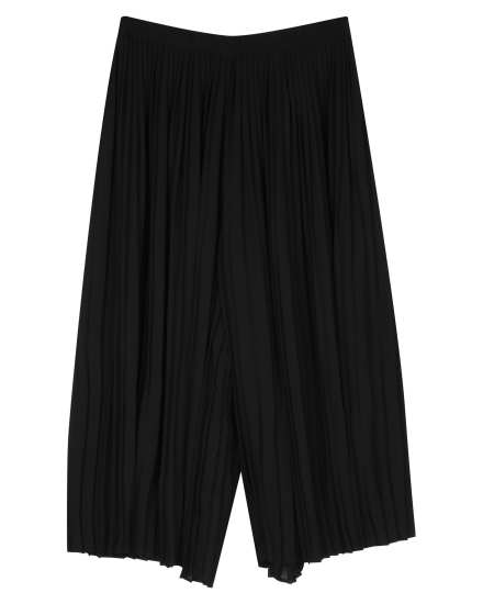 Knife Pleated Recycled Polyester Pant
