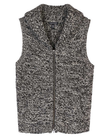 Tweedy Yak and Merino Vest