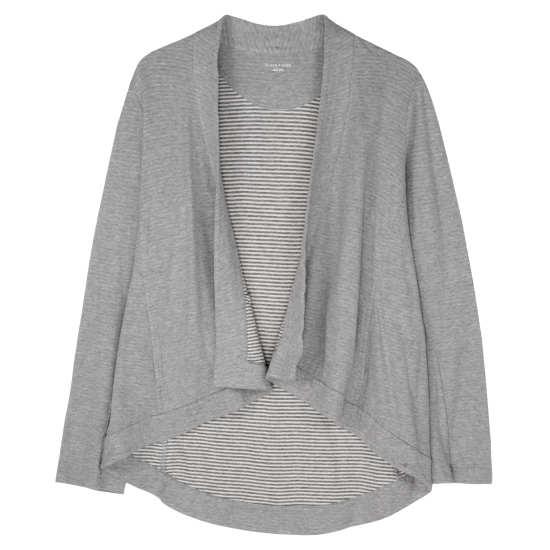 Organic Cozy Doubleknit Stripe Jacket