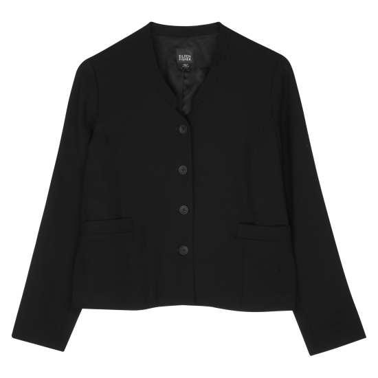 Tropical Fine Crepe Jacket