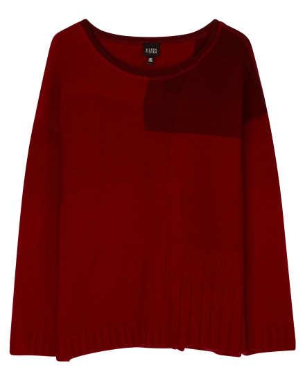 Resewn Cashmere Patchwork Sweater
