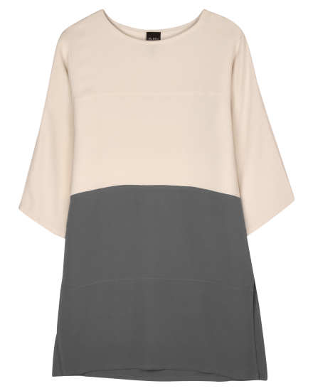 Resewn 3/4 Sleeve Tunic