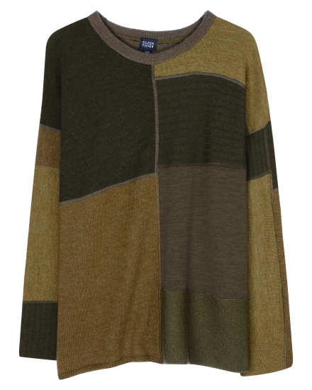 Resewn Patchwork Sweater