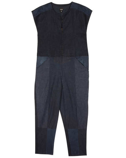 Resewn Denim Jumpsuit