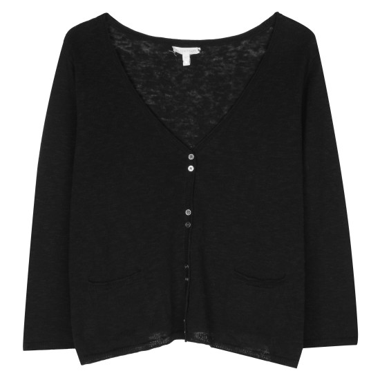 Linen Cotton Slub Pullover