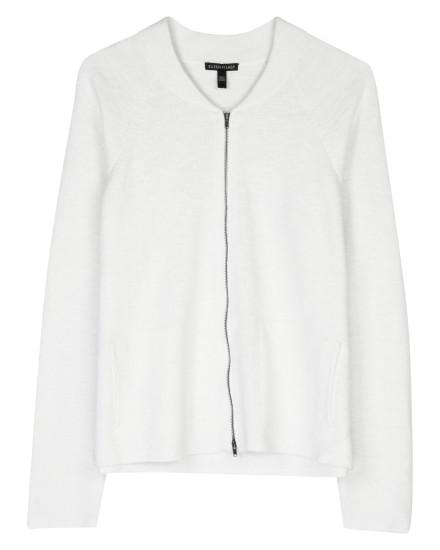 Organic Cotton Linen Slub Jacket