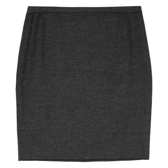 Merino Birds Eye Stretch Skirt