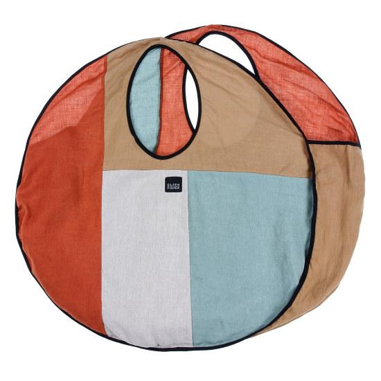 Resewn Circle Tote Bag