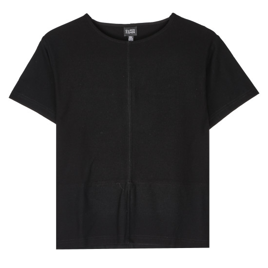 Resewn Washable Stretch Crepe T-Shirt