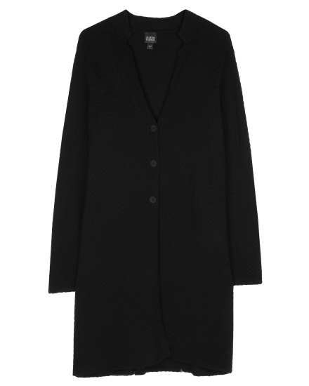 Viscose Wool Puckerknit Jacket