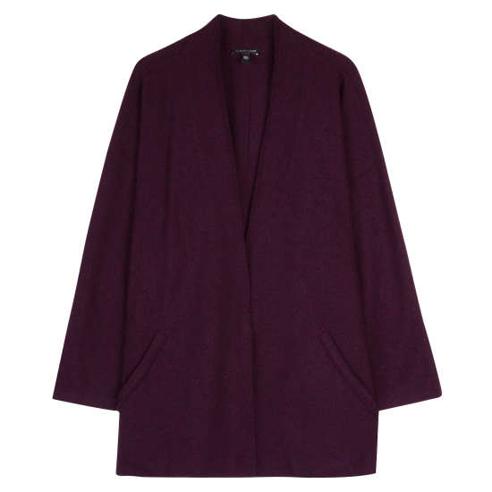 Lightweight Boiled Wool Coat