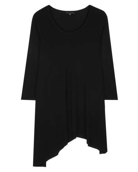 Stretch Silk Jersey Tunic