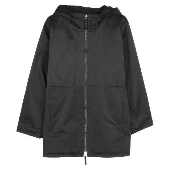 Organic Cotton Nylon Outerwear Coat