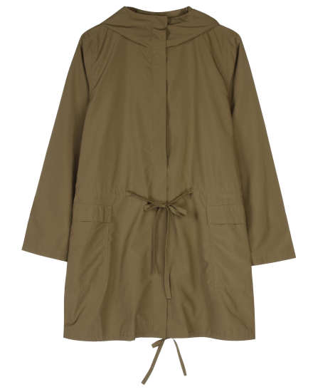Recycled Poly Outerwear Coat