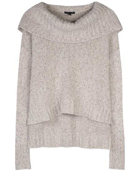 Cashmere Silk Tweed Pullover