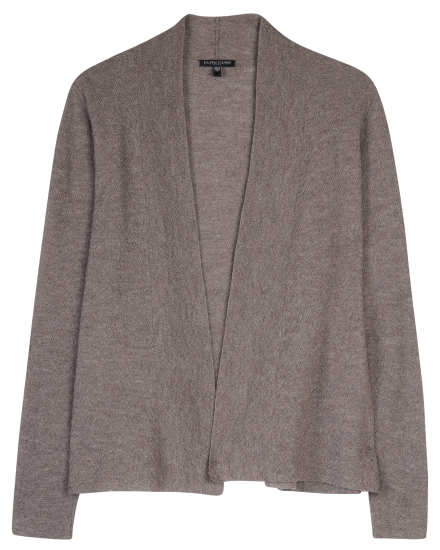 Washable Wool Fine Crepe Jacket