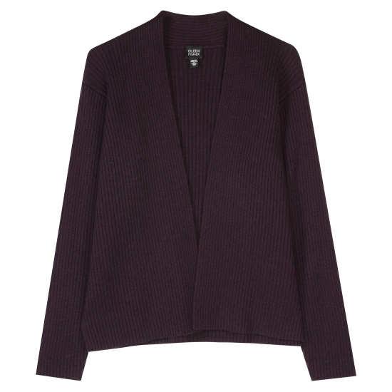 Merino Wool Rib Jacket
