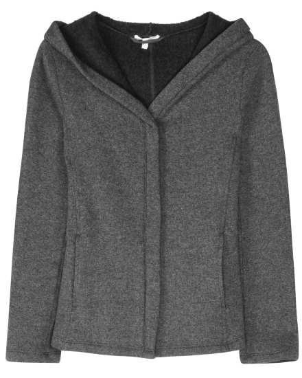 Fluffy Fleece Wool Blend Jacket