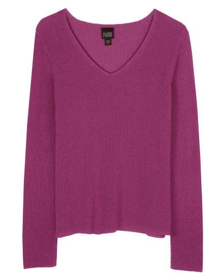 Cotton Silk Cord Pullover